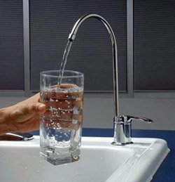 Установка фильтра очистки воды город Ленинск-Кузнецкий