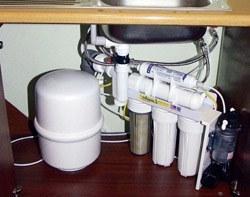 Установка фильтра очистки воды в Ленинск-Кузнецком, подключение фильтра очистки воды в г.Ленинск-Кузнецкий